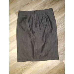 Talbots Skirts - Black pencil skirt size 12